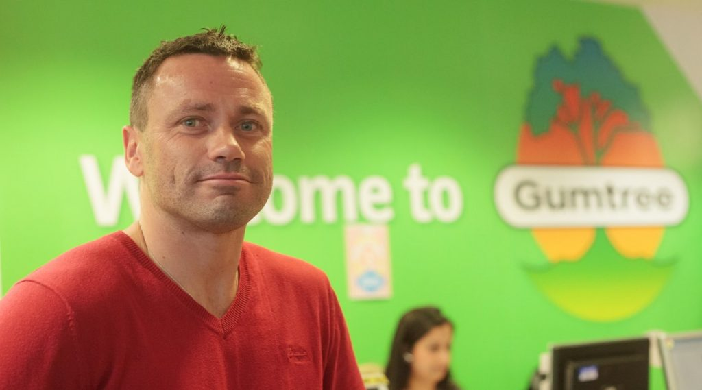 Luke Todd, Head of Customer Ops, Gumtree