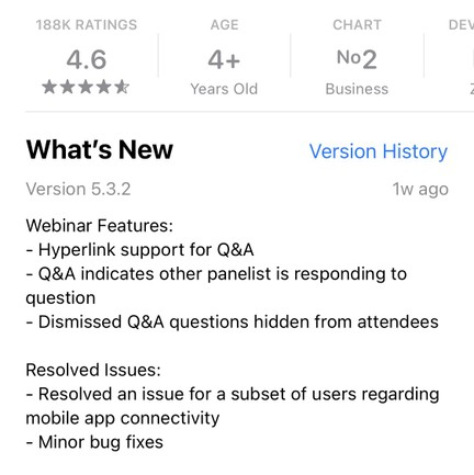 Product release version number example