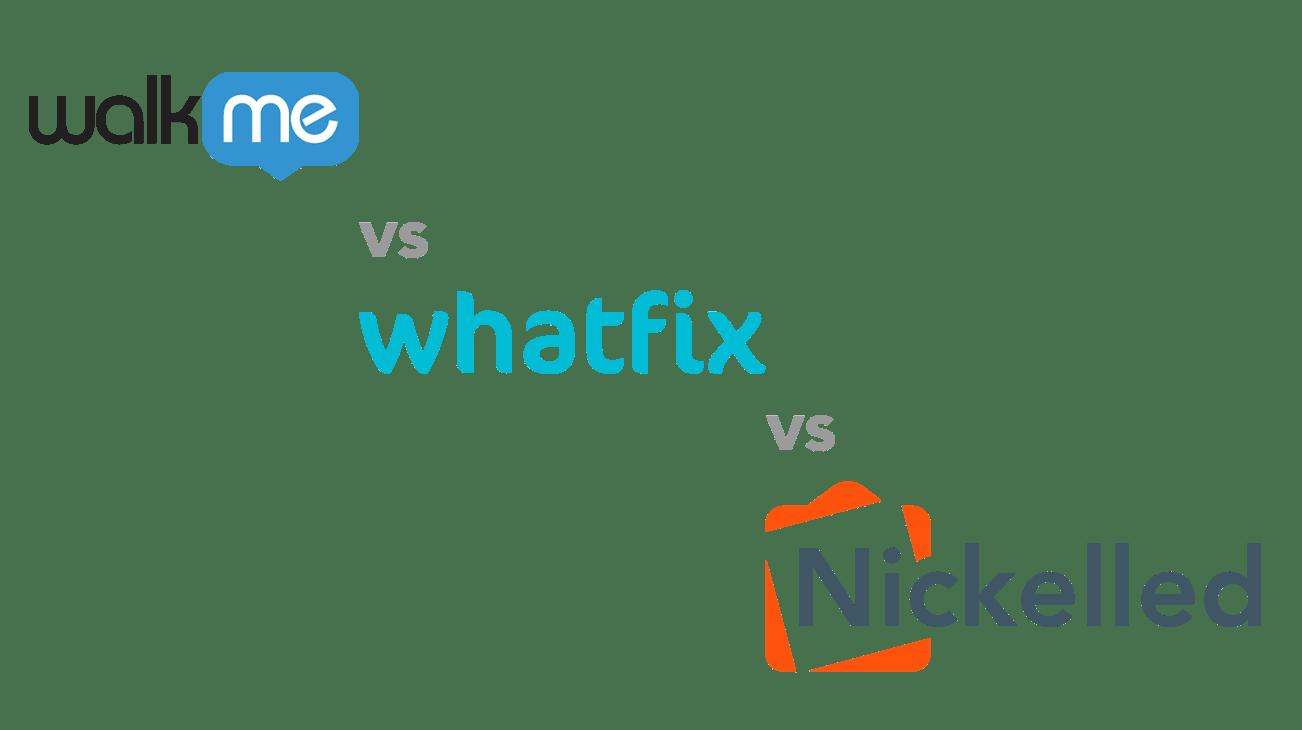 WalkMe vs Whatfix